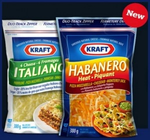 Kraft Shredded Cheese Canadian Coupon