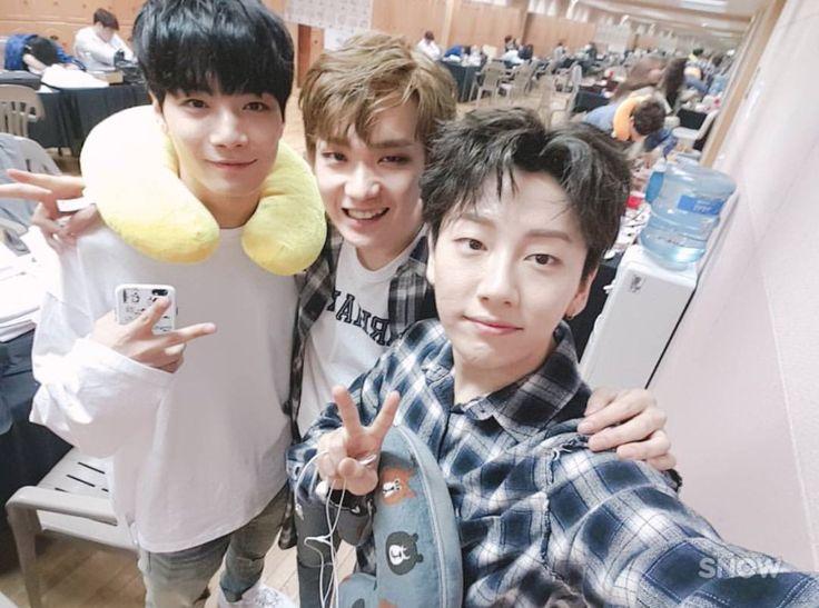 JR, Kenta and Noh Taehyun