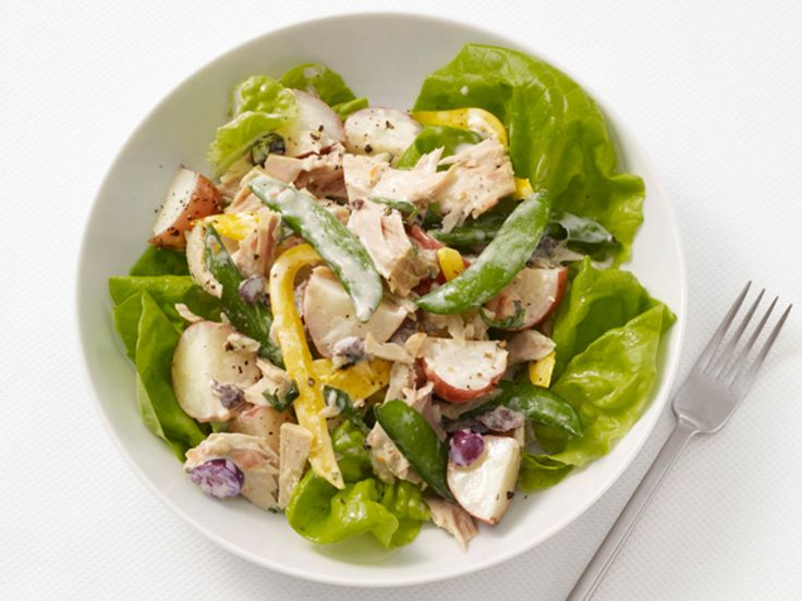Light Nicoise Salad #MyPlate #Seafood #Protein #VeggiesNicoi Salad, Food Network, Protein Food, Nicoise Salad, Salad Recipes, Trav'Lin Lights, Network Kitchens, Food Recipe, Lights Nicoise