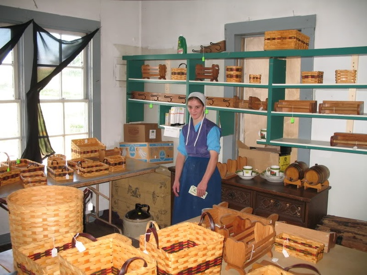 Basket Weaving Lancaster Pa : Best images about amish life on