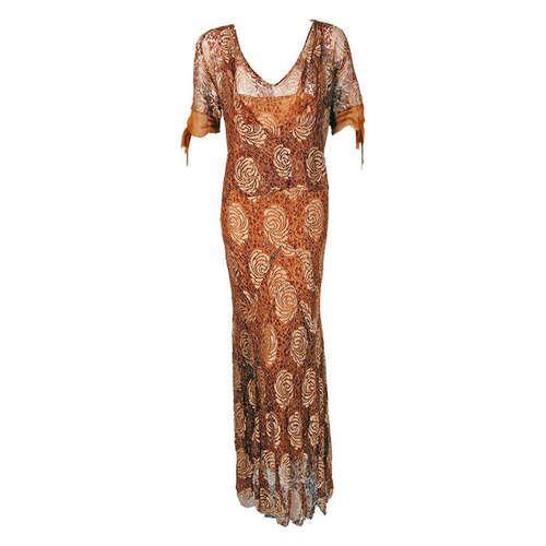 Dress  1930s  France