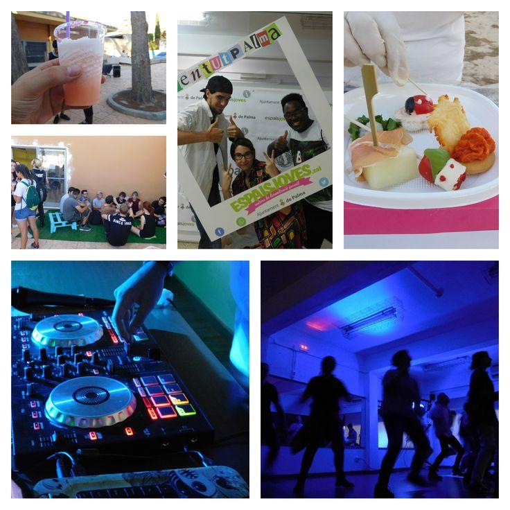#DansantParty: #disco, espectacles de #ball, zona #chillout, taller de #fingerfood, #granissats, #photocall i moltes sorpreses més.