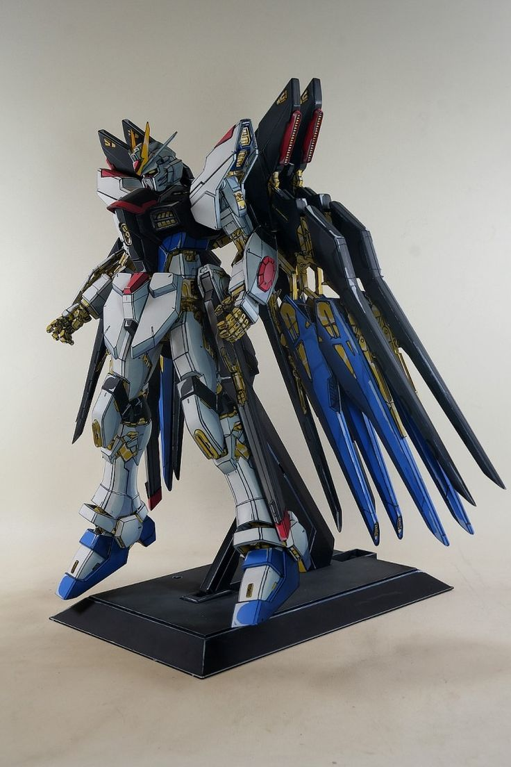 Custom Build: PG 1/60 Strike Freedom Gundam [Anime Style Paint Job] - Gundam…