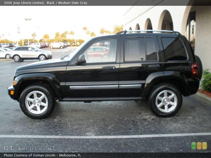 2006 Jeep Liberty (Black)