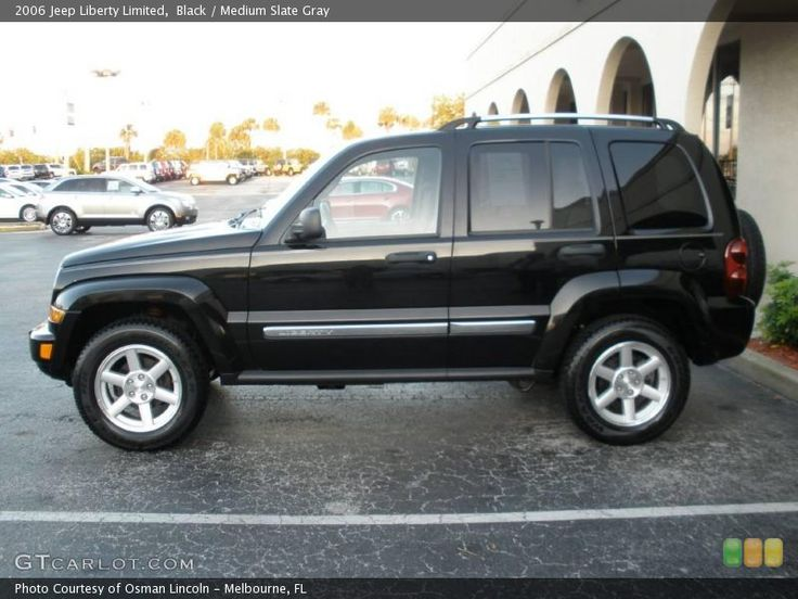2006 Jeep Liberty (Black) Cars I love Pinterest Jeep