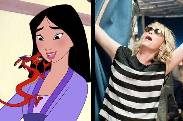 Every princess has a wild side. You got: Ariel