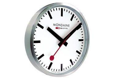 Mondaine Classical Swiss Railway Wall Clock l Heimatwek, Switzerland