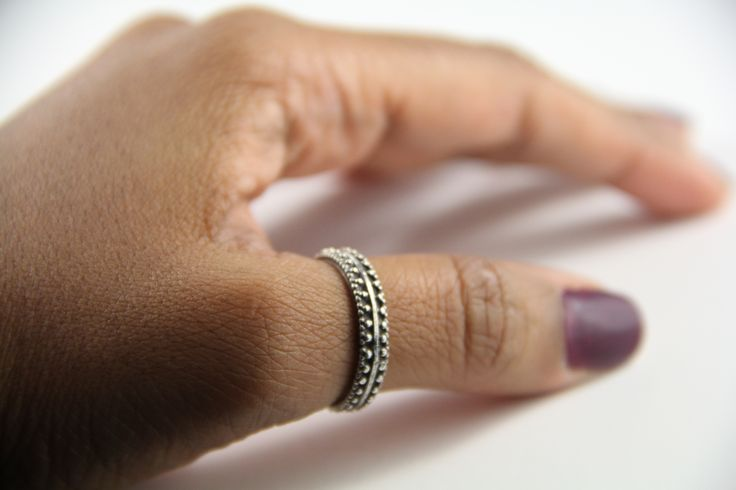 Thumb ring #unisexring #silverthumbring #thumbrings #silverjwellery #jewellery #rings Shop at www.etsy.com/au/shop/ChrisRoseBijoux