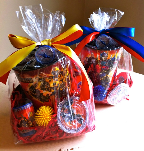 Transformer Favor Bags by