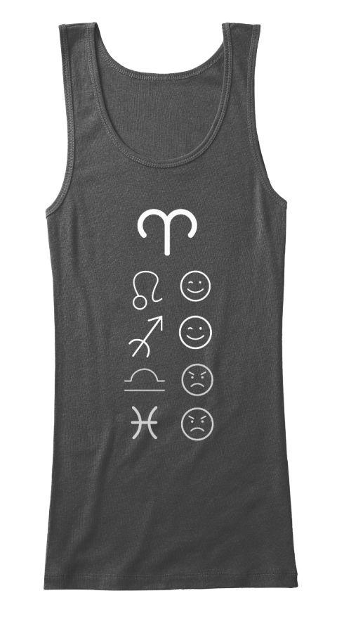 Aries-Love-Tanks-Dark#zodiac #zodiactees #zodiacfashion #trendy #womenswear #fittedtanks #aries