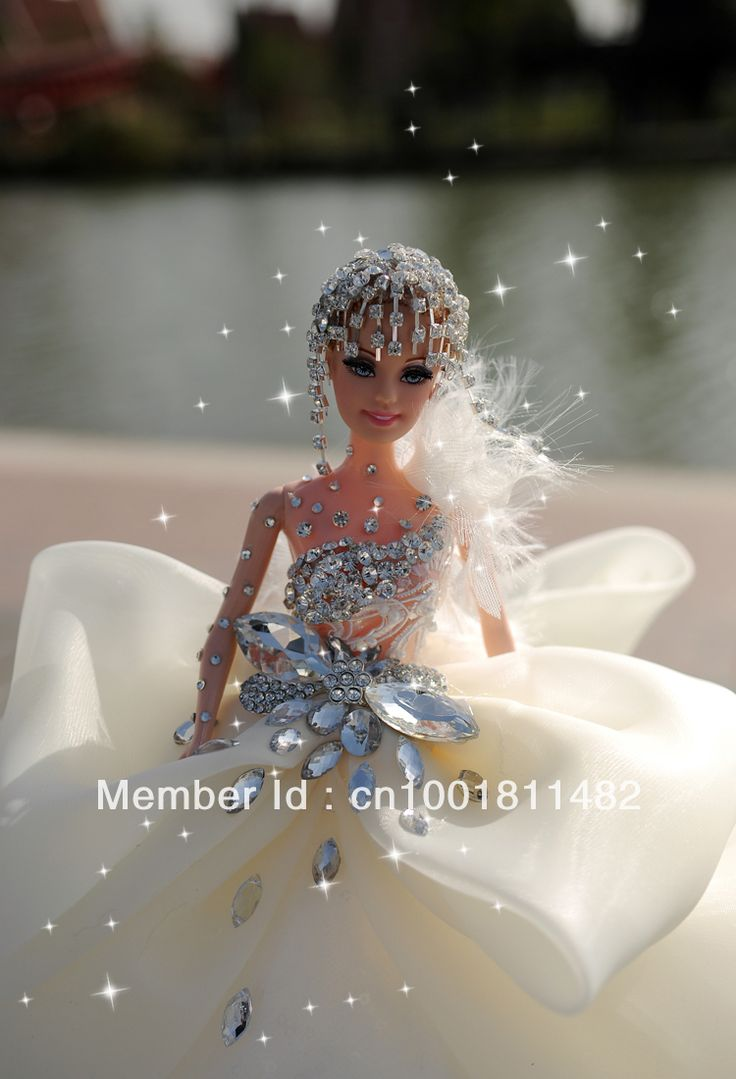 Customized bride barbie doll wedding gift wedding salon decoration window display girl gift engagement gift