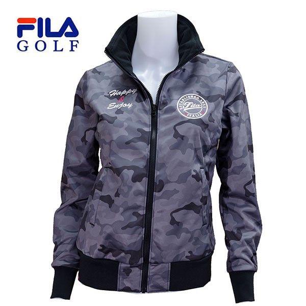 50% off  FILA  ゴルフ レディス ボンディングブルゾン 795-241 :795241-bk:image - 通販 - Yahoo!ショッピング