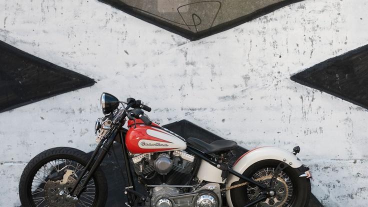 Gasolina build two #swpromenade #melbourne #italian #motorcycles