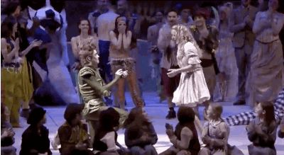 An Actor Playing Peter Pan Stopped The Show To Propose To Wendy
