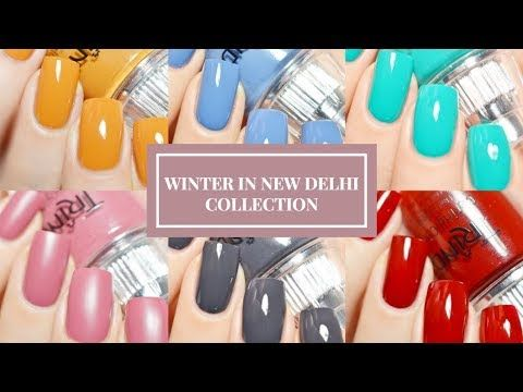 WINTER IN NEW DELHI 2017 COLLECTION BY TRIND COSMETICS