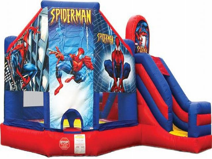 Find Spiderman Bouncer Slide Combo? Yes, Get What You Want From Here, Higher quality, Lower price, Fast delivery, Safe Transactions, All kinds of inflatable products for sale - East Inflatables UK