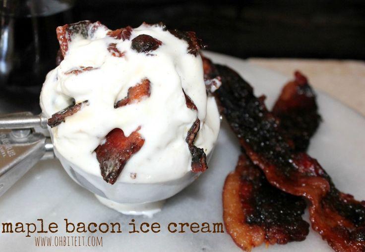 ~Maple Bacon Ice Cream! | Oh Bite It