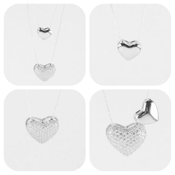 Double hearts. Meaningful sterling silver pendants. Versatile to wear. Share with a loved one. Mother and daughter. Best friends. Aunty and niece. Sisters.