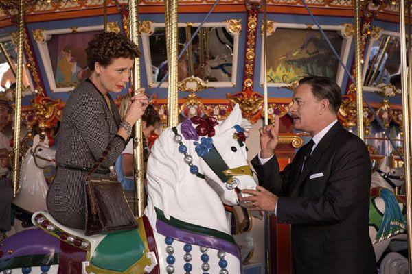 Emma Thompson/P.L. Travers  Tom Hanks/Walt Disney  -Saving Mr. Banks (2013)