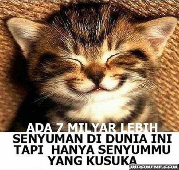 Hanya senyum mu yang kusuka - #GambarLucu #MemeLucu - http://www.indomeme.com/meme/hanya-senyum-mu-yang-kusuka/