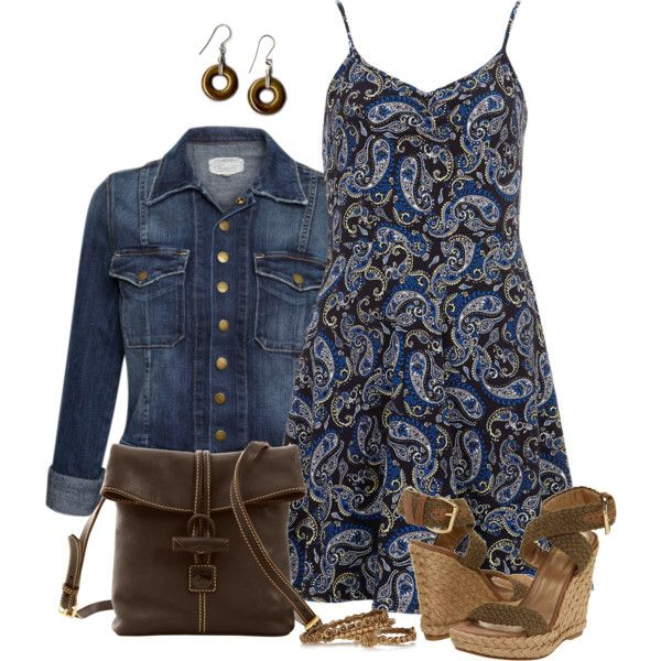 Paisley Dress, created by daiscat on Polyvore