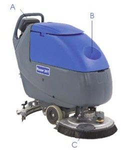 The floor scrubbing machine is an ultimate way to clean your floor.