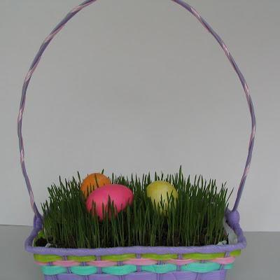 DIY Easter Basket Grass