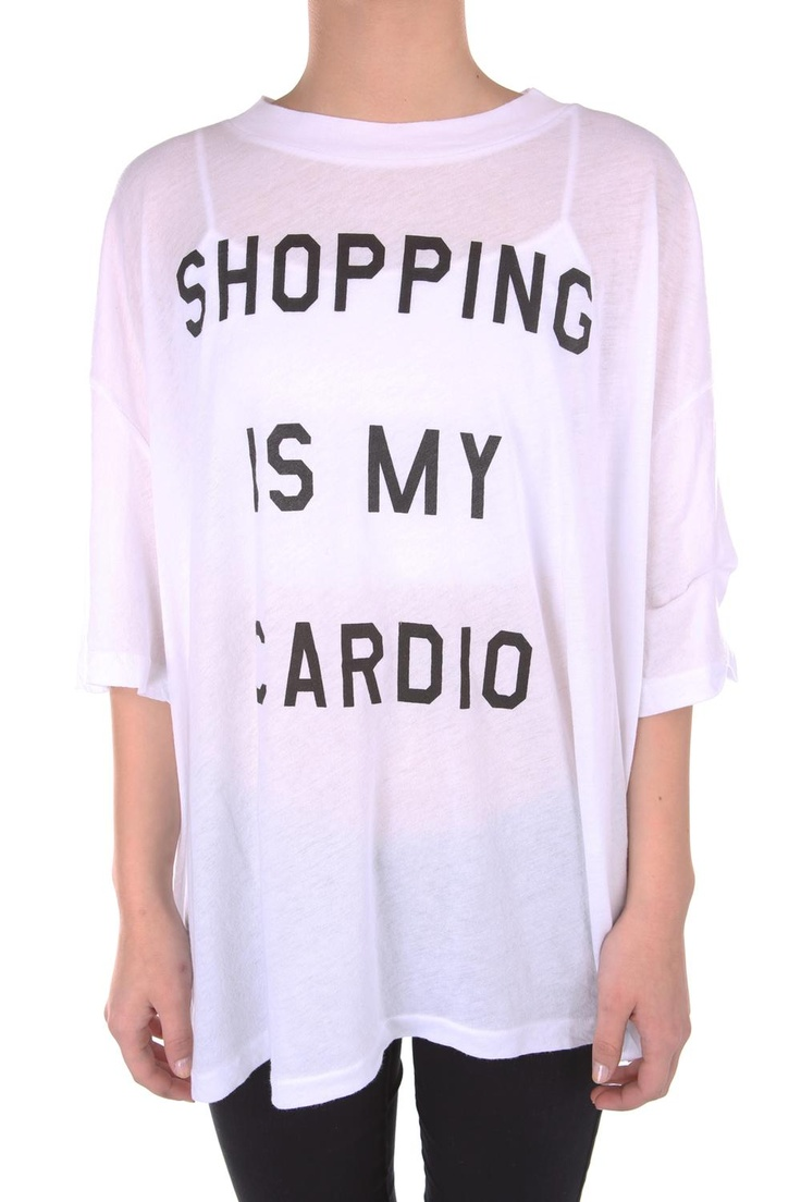 Wildfox Couture Cobain T-shirt Shopping Is My Cardio | Alene Too