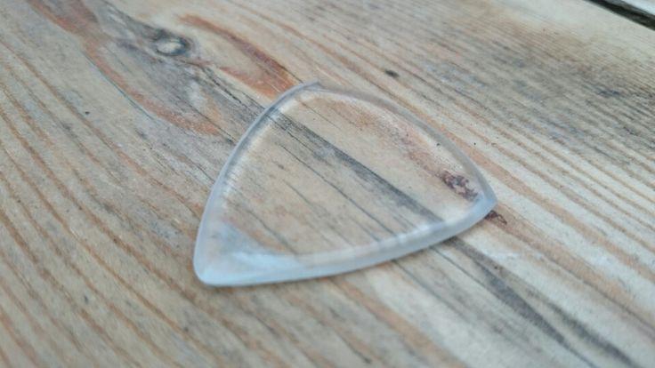 Plexiglass guitar pick heavy