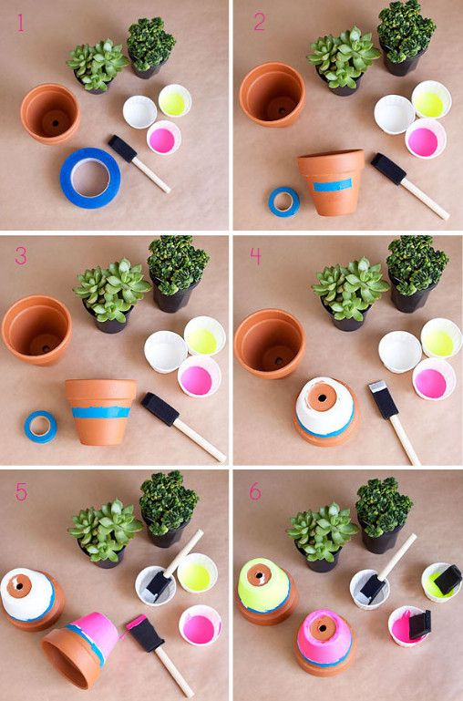 Pot Painting Step by Step Guidelines