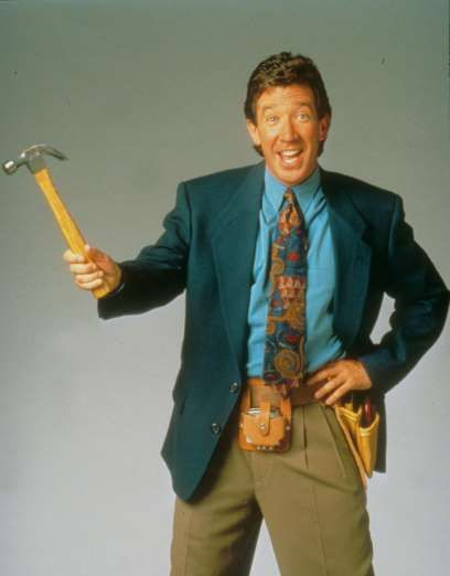 "Tim Allen starred in ""Home Improvement"" as head of the household Tim Taylor, who juggled his wife an... - Moviestore/Re/REX Shutterstock/Rex USA"