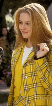 Cher Clueless Yellow Plaid Google Search Clueless Outfits