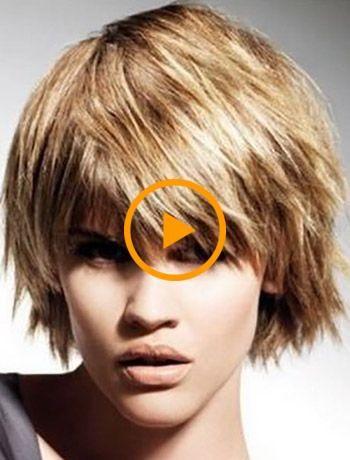 Originele kapsels voor haar van verschillende lengtes - korte haarkapsels #kapselsvierkantgeknipt #gecshorenkapsels #kortgeknipt