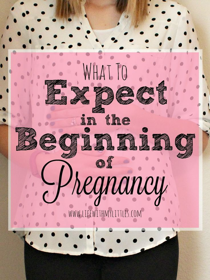 Not sure what to expect during the first trimester? Here's a great list of what to expect in the beginning of pregnancy. #3 is so true!! A must read if you are pregnant!