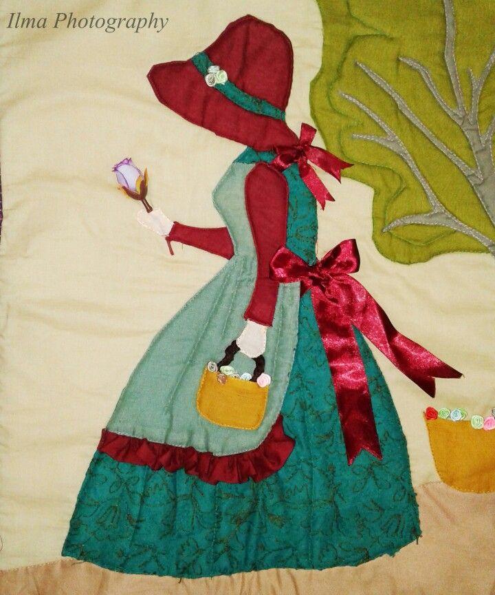 Patchwork Bonnet Girl