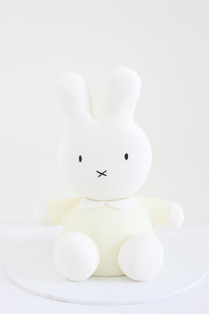 Miffy cake. Perfect for a 1st birthday
