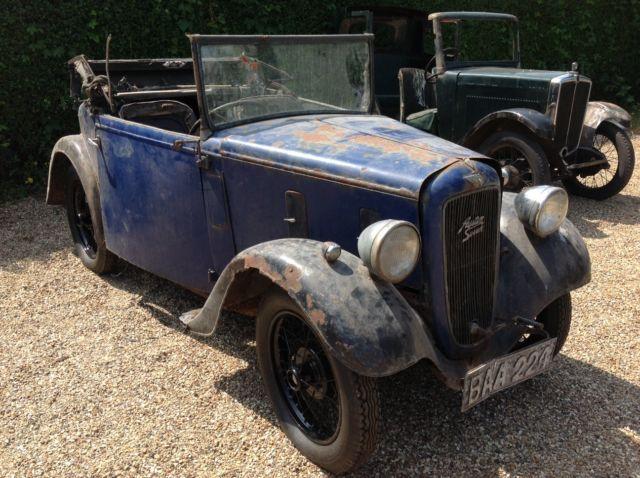 1936 Austin 7 Opal Tourer | eBay