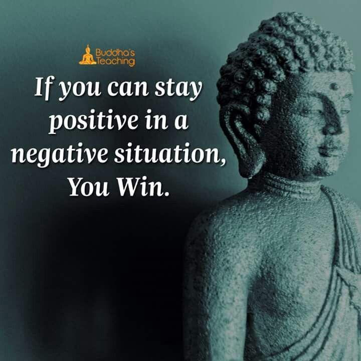 Nếu như bạn có thể lạc quan trong những tình huống tiêu cực, bạn thắng.