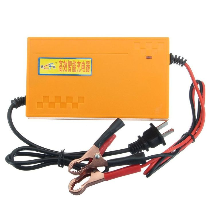 12V 8A Portable Smart Pulse Battery Charger Power Bank For Car Motorcycles Boat    eBay