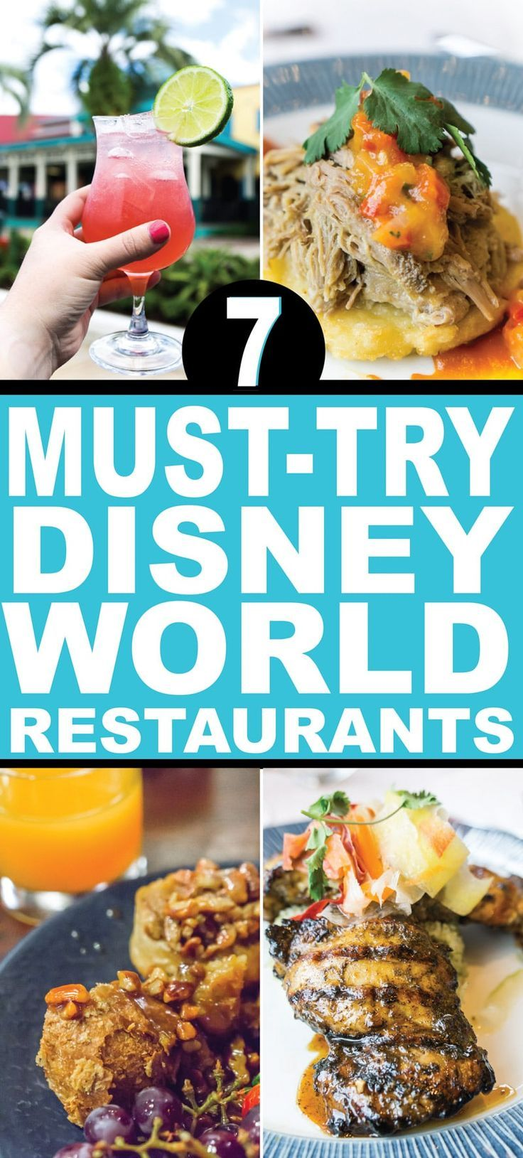 7 Disney World Restaurants You Must Try At Least Once Play Party Plan Disney World Restaurants Dining At Disney World Best Disney World Restaurants