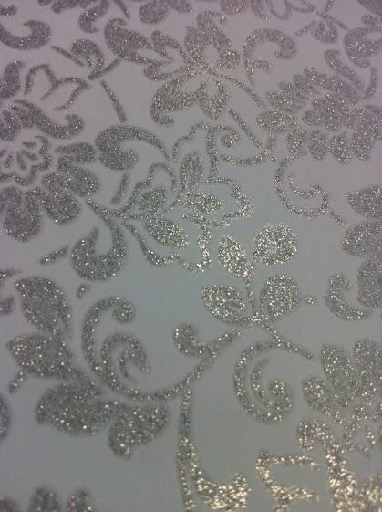 Glitter argentato