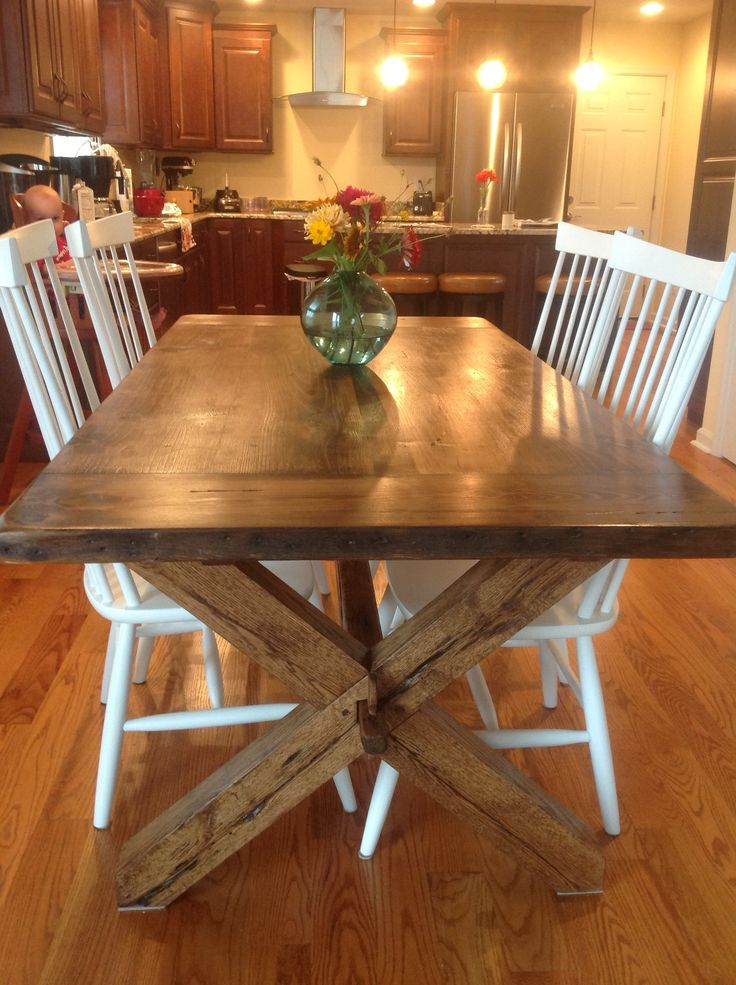 7 Best images about Reclaimed Wood Trestle