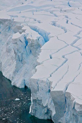 Glacier - Antarctica.Argentina
