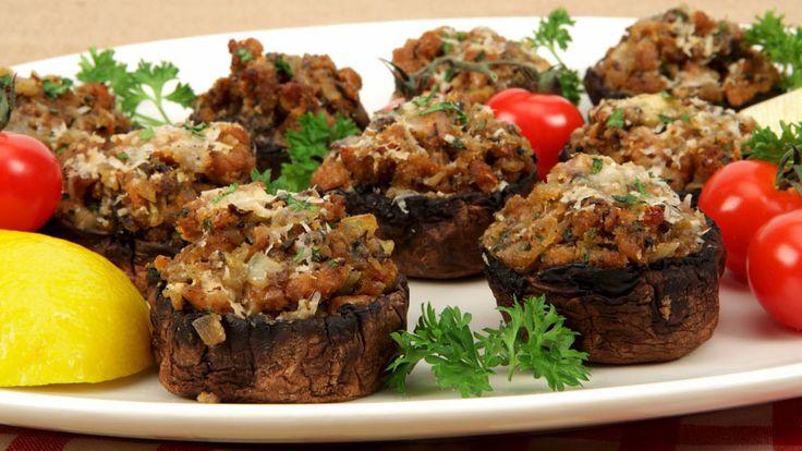 Stuffed Portobellinis - Recipes - Best Recipes Ever - A recipe for