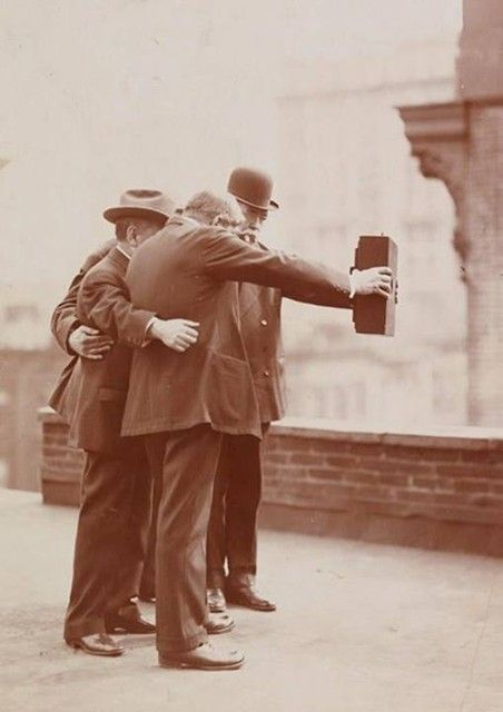 The world's first selfie. 1920's.
