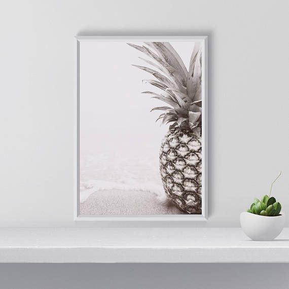Hey, I found this really awesome Etsy listing at https://www.etsy.com/listing/568599887/printable-pineapple-wall-art-modern
