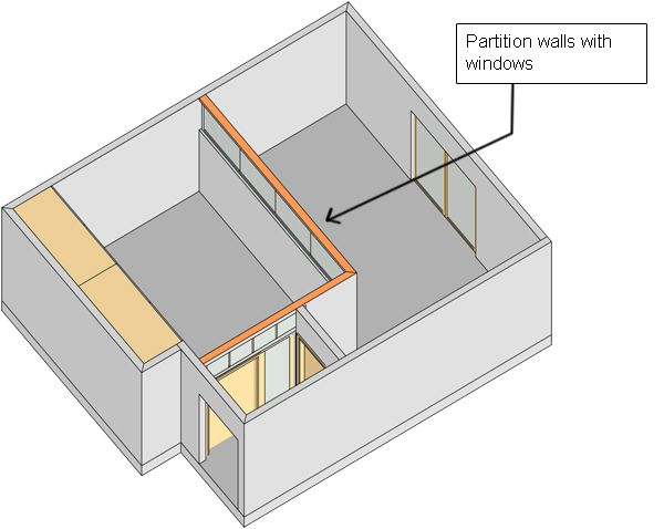 Divide A Large Room Into Two With Parion Wall Our House Pinterest Bedroom And Divider