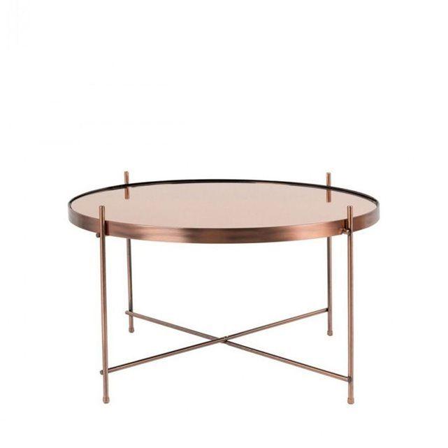 Table basse design rondeØ62,5 cmCupid by Drawer ! Très tendance, cettetable basse Large Cupid couleur cuivretrès légère se déplace d'une pièce à une autre selon vos envies du jour. Le plateau de cette table basse design est en verre trempé teinté. Libre, il se retire afin de faciliter son nettoyage. Les pieds sont réalisés en métal, repliables pour plus de légèreté. Cette table basse design est à la fois très épurée, très pratique, jolie et accueille de quoi prendre le café entre amis...