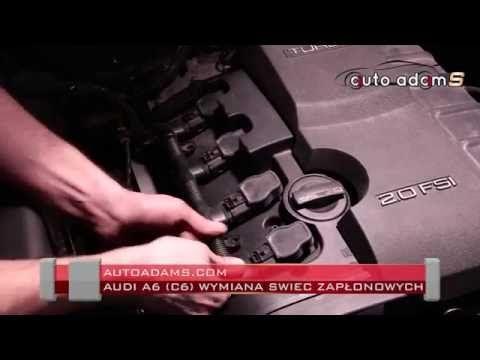 Wymiana świec zapłonowych w Audi A6 (C6) autoadams.com