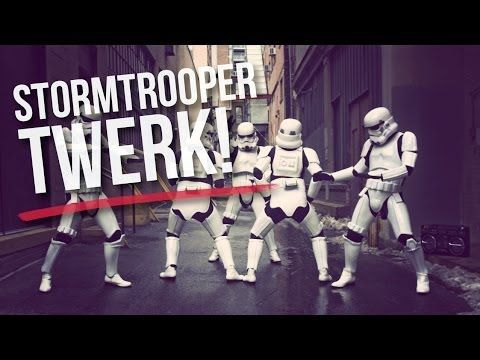 This is everything you never knew wanted and more. | And Now For Some Flawless Stormtroopers Twerking Their Troubles Away